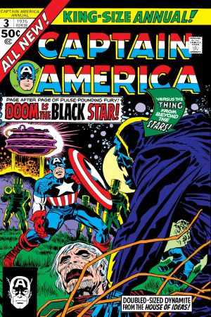 Captain America Annual (1971) #3