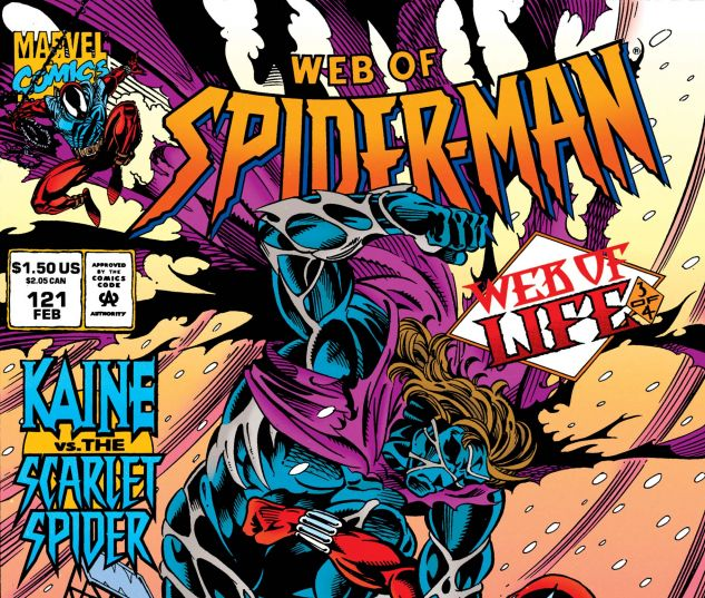 WEB OF SPIDER-MAN (1985) #121