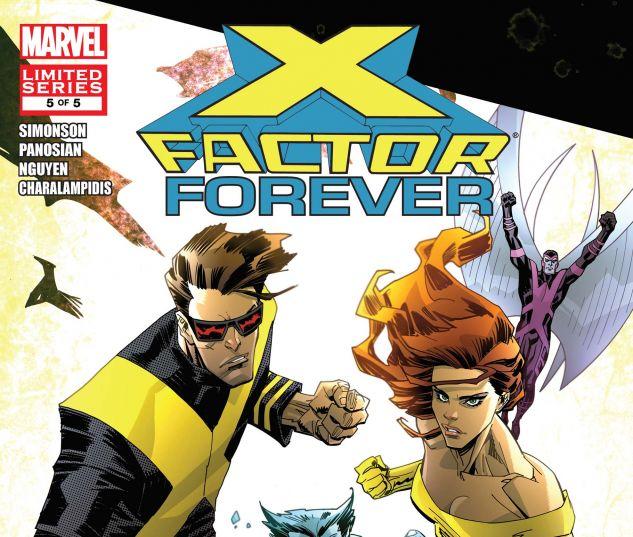 X-FACTOR FOREVER (2010) #5