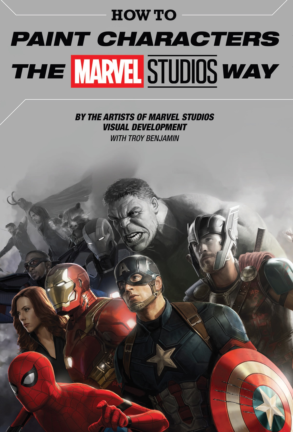 How To Paint Characters The Marvel Studios Way (Hardcover)