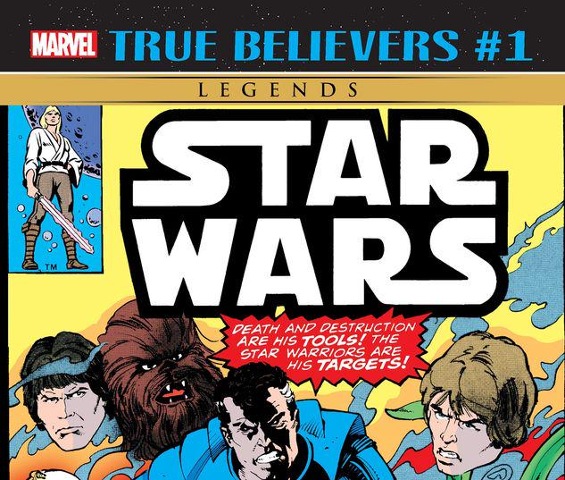 TRUE BELIEVERS: STAR WARS - THE HUNTER 1 #1