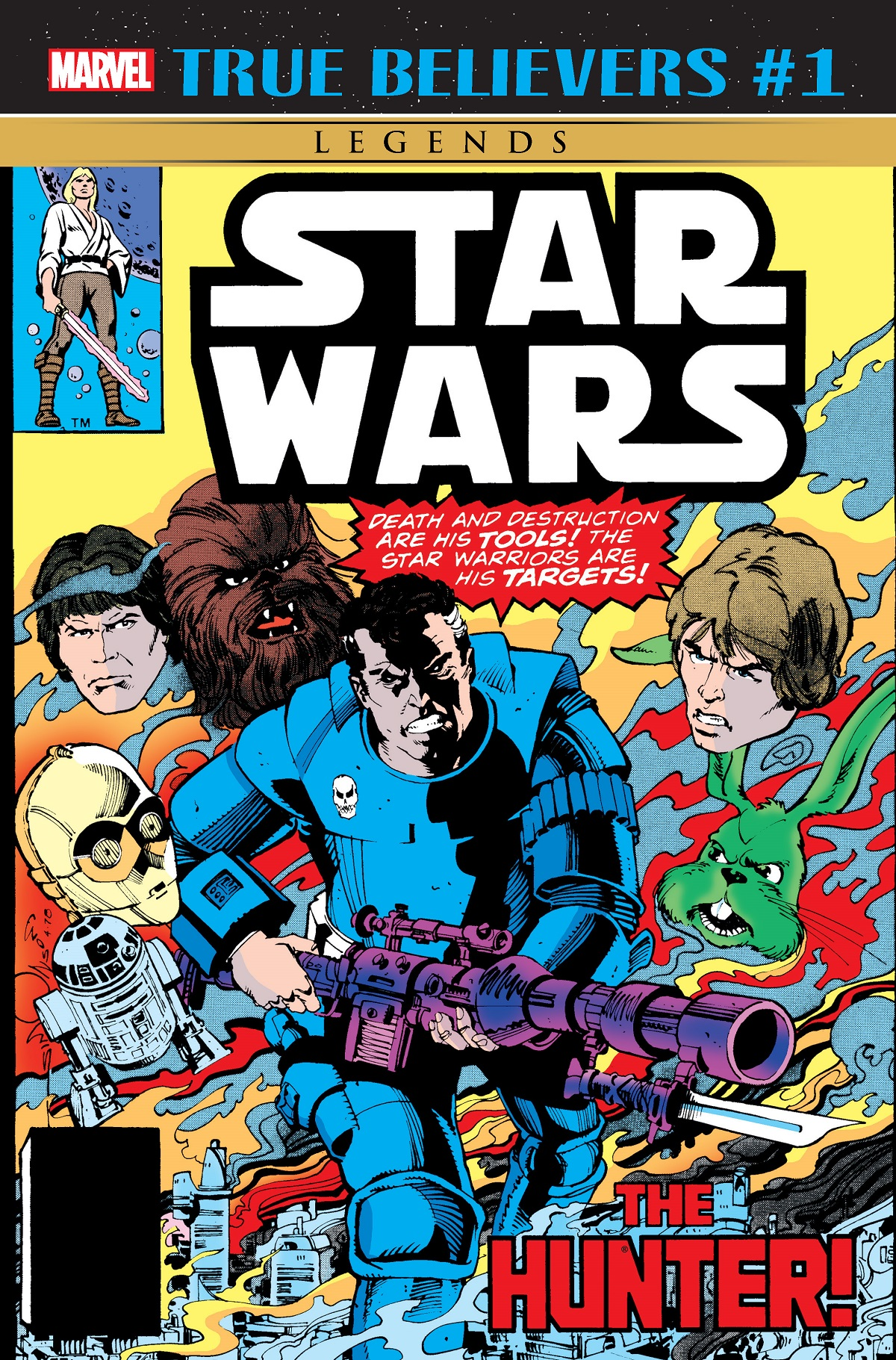 True Believers: Star Wars - The Hunter (2019) #1