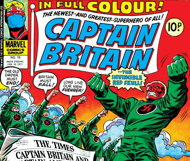 Captain Britain #19