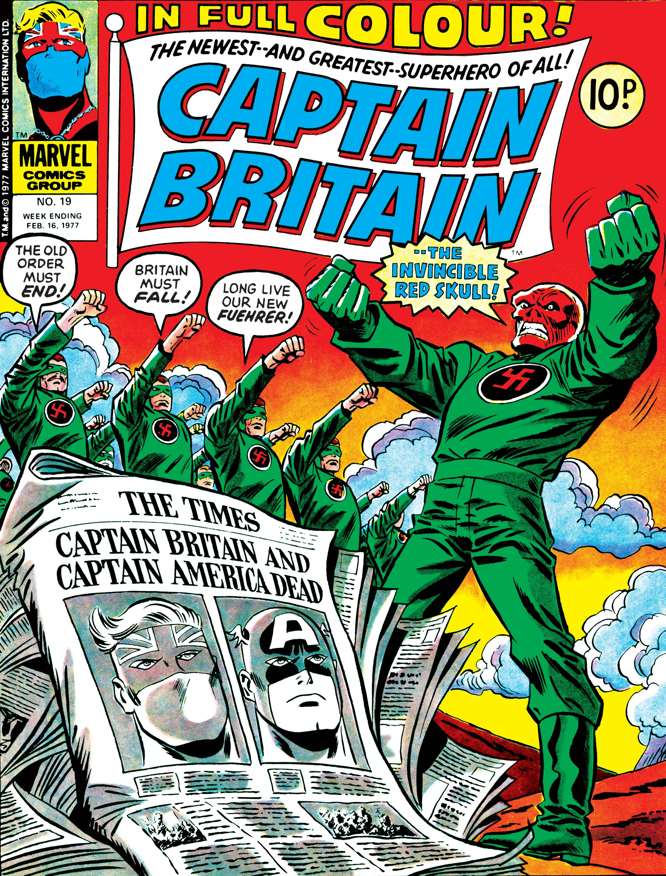 Captain Britain (1976) #19