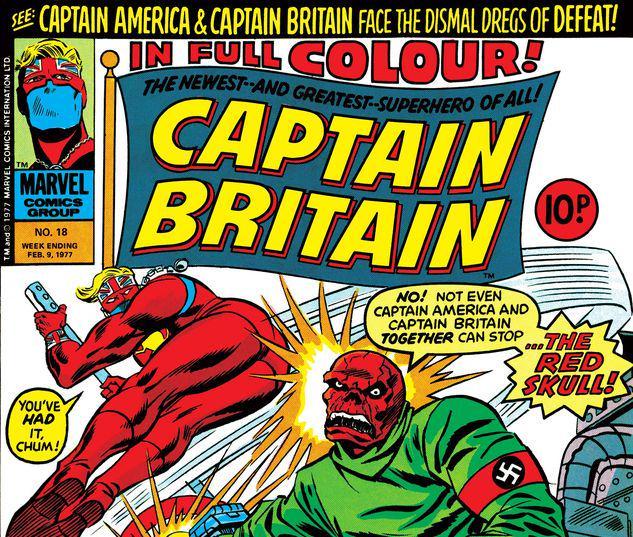 Captain Britain #18