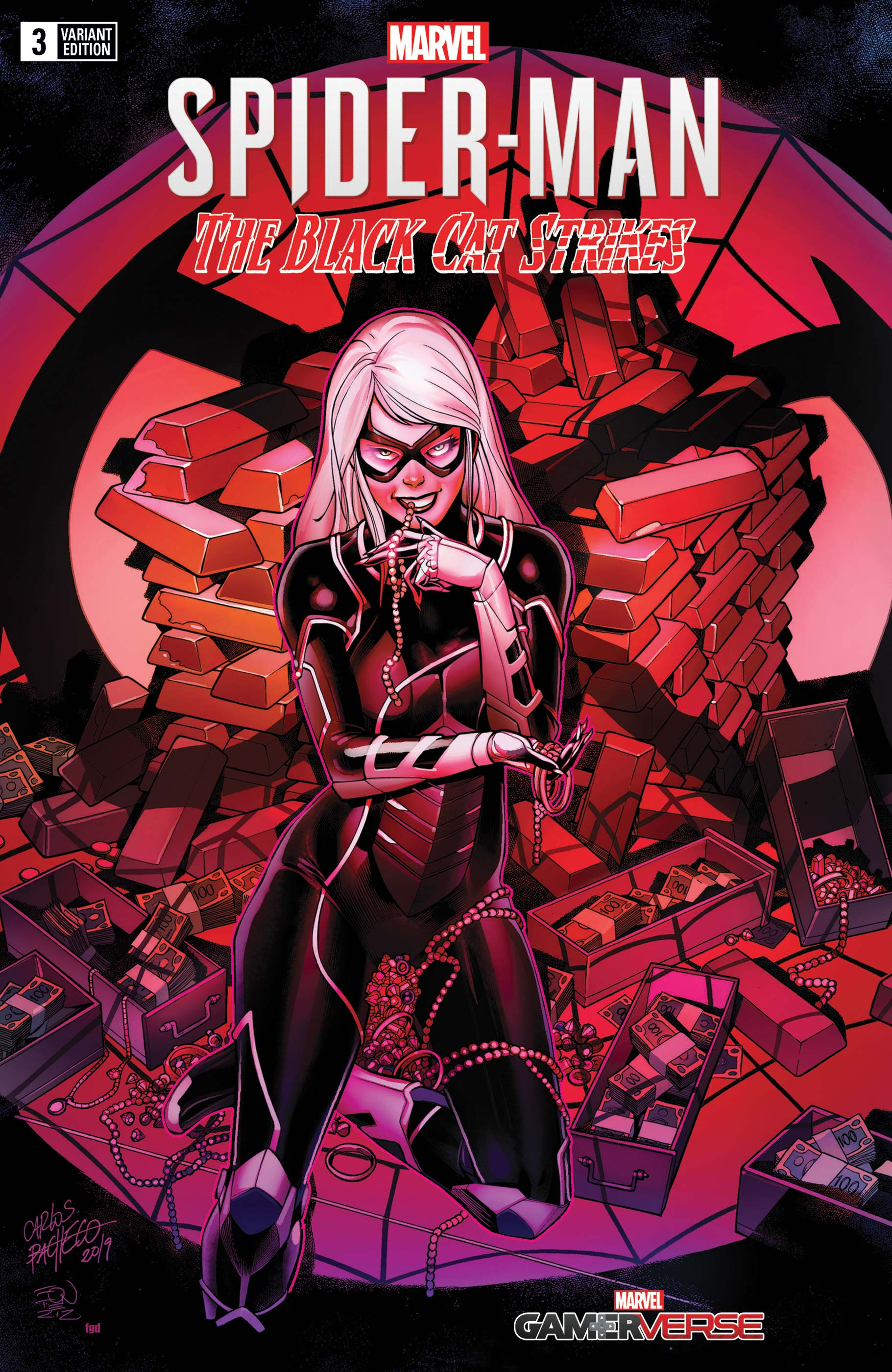 Marvel's Spider-Man: The Black Cat Strikes (2020) #3 (Variant)