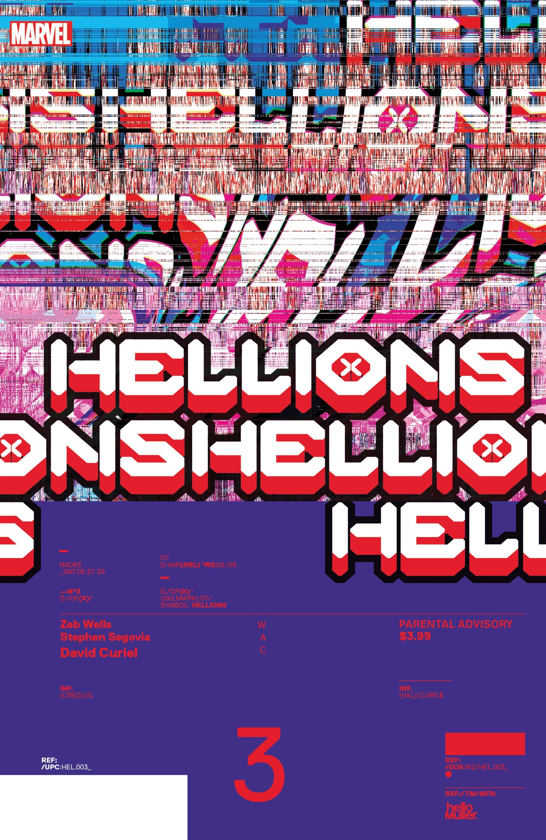 Hellions (2020) #3 (Variant)