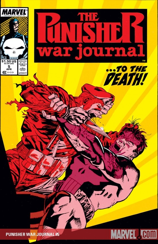 Punisher War Journal (1988) #5