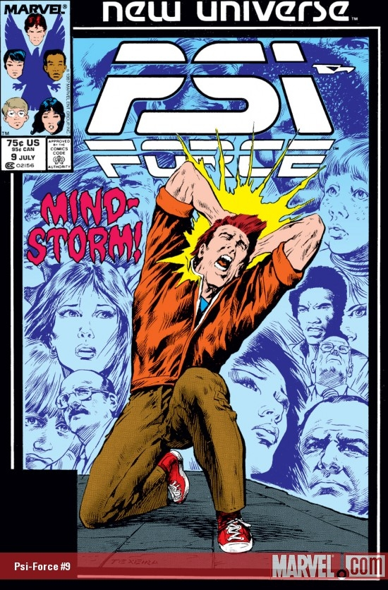 Psi-Force (1986) #9