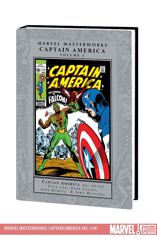 Marvel Masterworks: Captain America Vol. 4 (Hardcover)