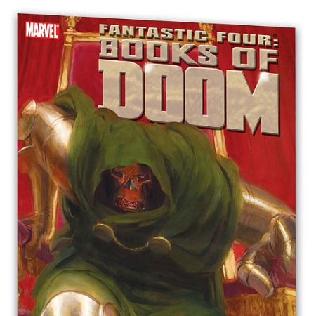 FANTASTIC FOUR: BOOKS OF DOOM COVER