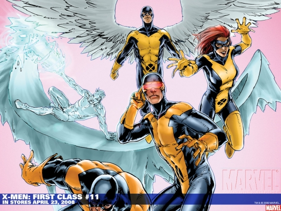 X-Men: First Class (2007) #11 Wallpaper