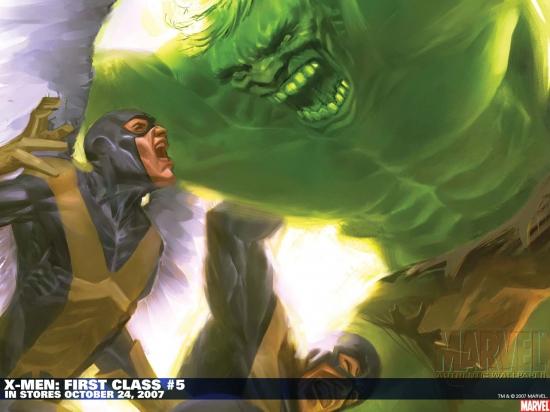 X-Men: First Class (2006) #5 Wallpaper