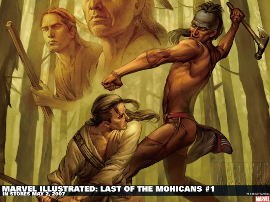 Marvel Illustrated: Last of the Mohicans (2007) #1 Wallpaper