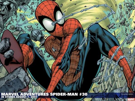 Marvel Adventures Spider-Man (2005) #30 Wallpaper