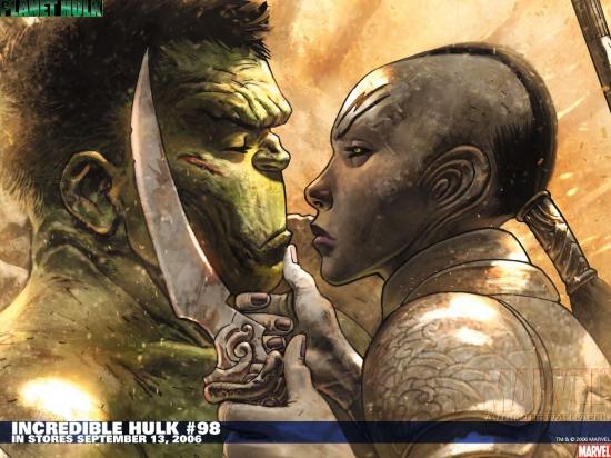 Incredible Hulk (1999) #98 Wallpaper