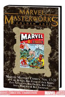 Marvel Masterworks: Golden Age Marvel Comics Vol. 5 (Hardcover)