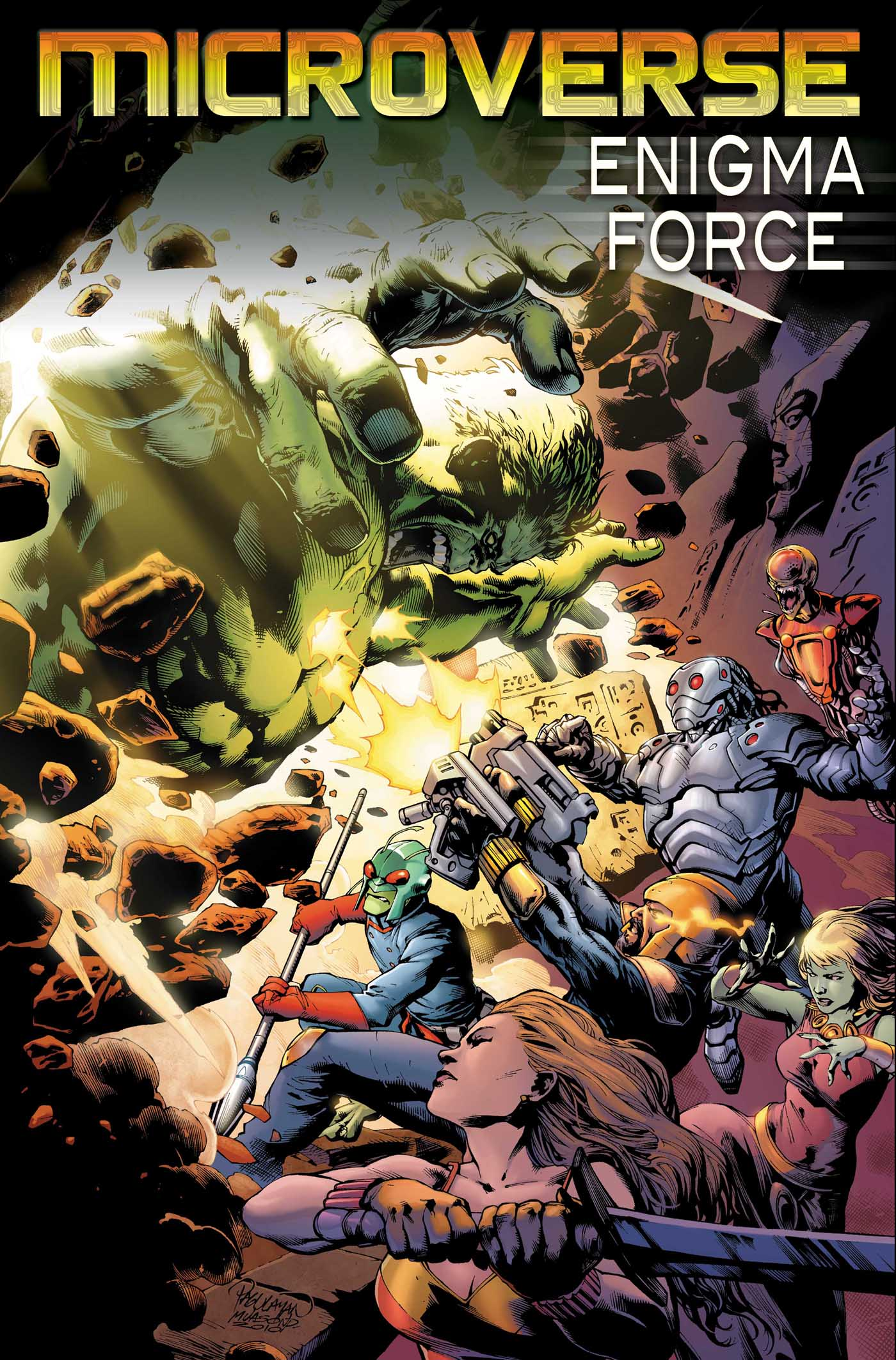 Microverse: Enigma Force (2010) #3