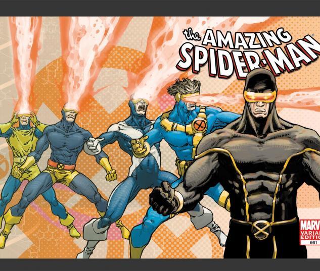 Amazing Spider-Man (1999) #661 X-Men Art Variant