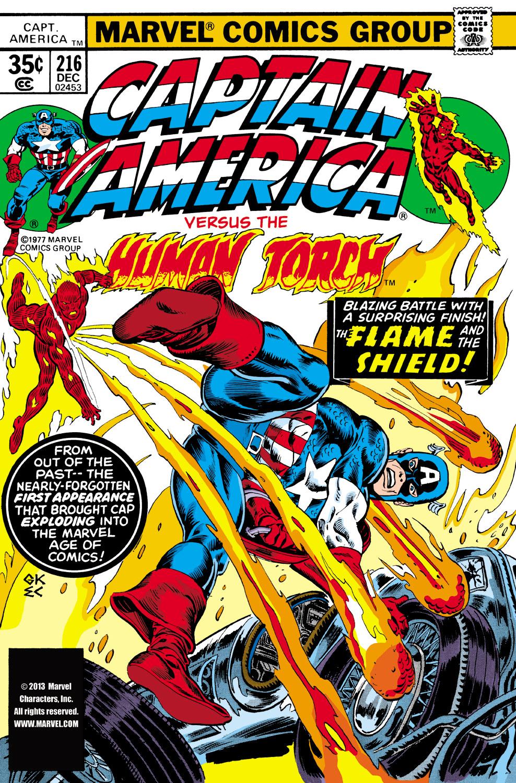 Captain America (1968) #216