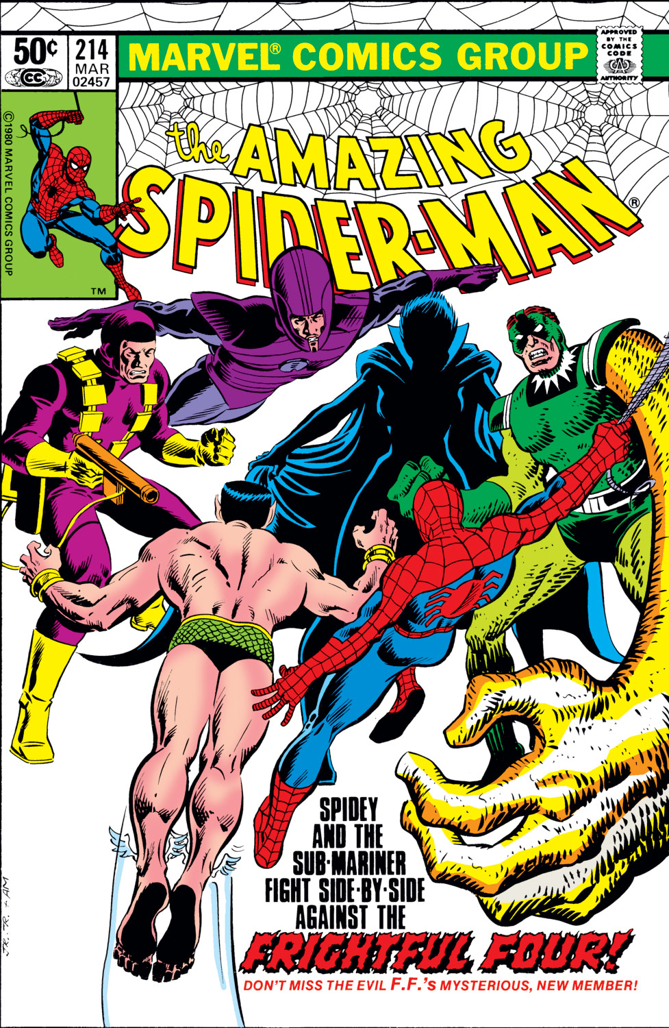 The Amazing Spider-Man (1963) #214