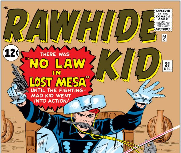 Rawhide Kid (1960) #31 Cover