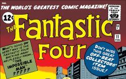 Fantastic Four (1961) #11 Cover