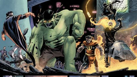 Secret Wars: Battleworld #1 preview art by Mike Henderson