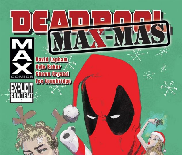 DEADPOOL MAX X-MAS SPECIAL (2011) Cover