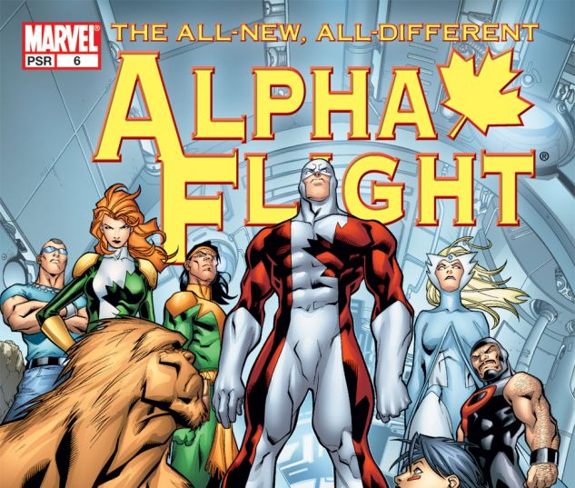 ALPHA FLIGHT (2004) #6 Cover