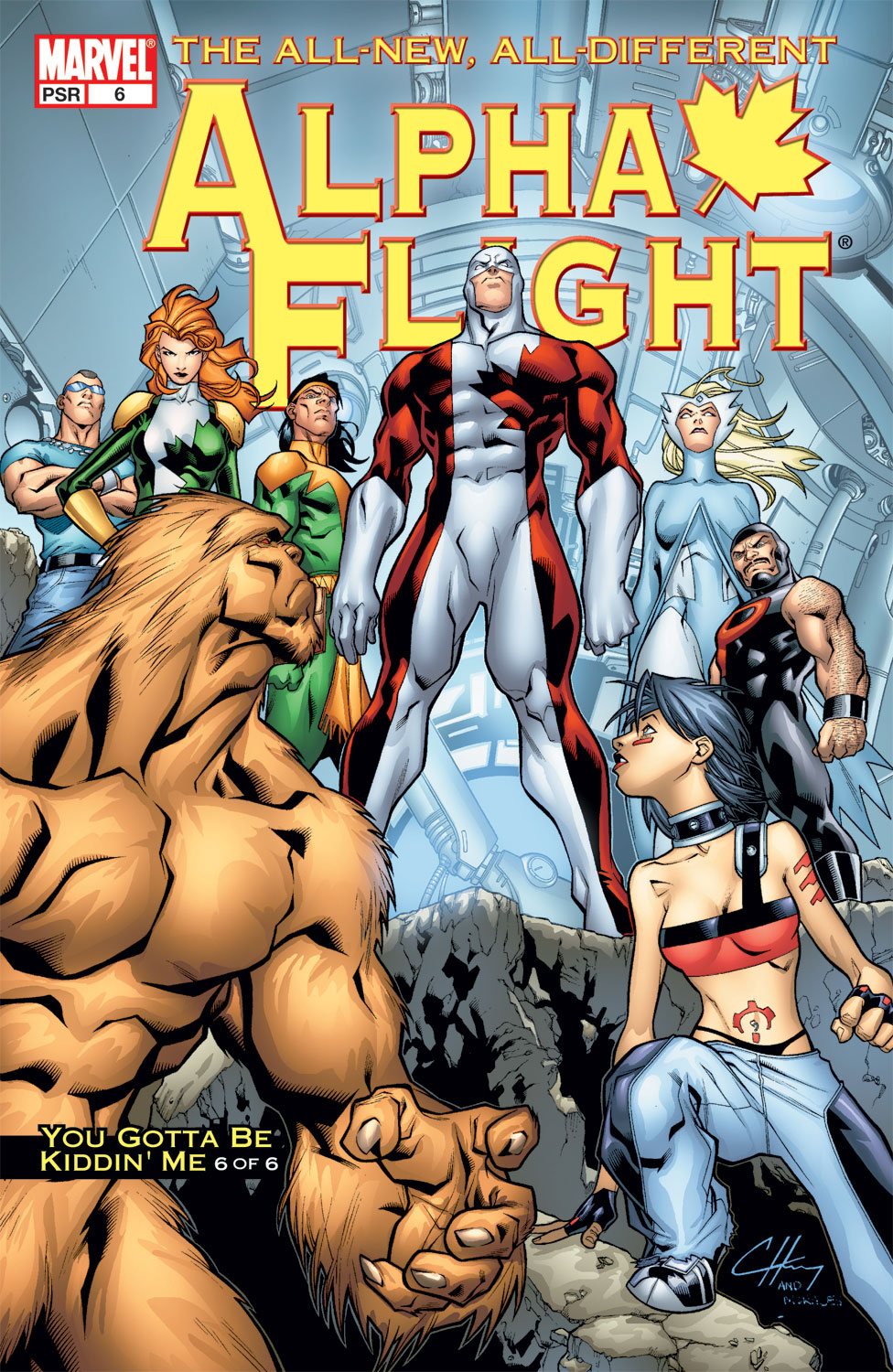 Alpha Flight (2004) #6
