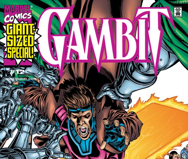 cover to Gambit (1999) #12