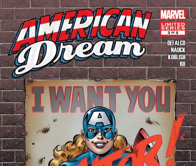 American Dream 2008 3 Comics Marvelcom
