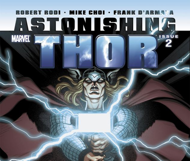 ASTONISHING THOR (2010) #2 Cover