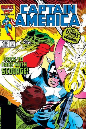 Captain America #320