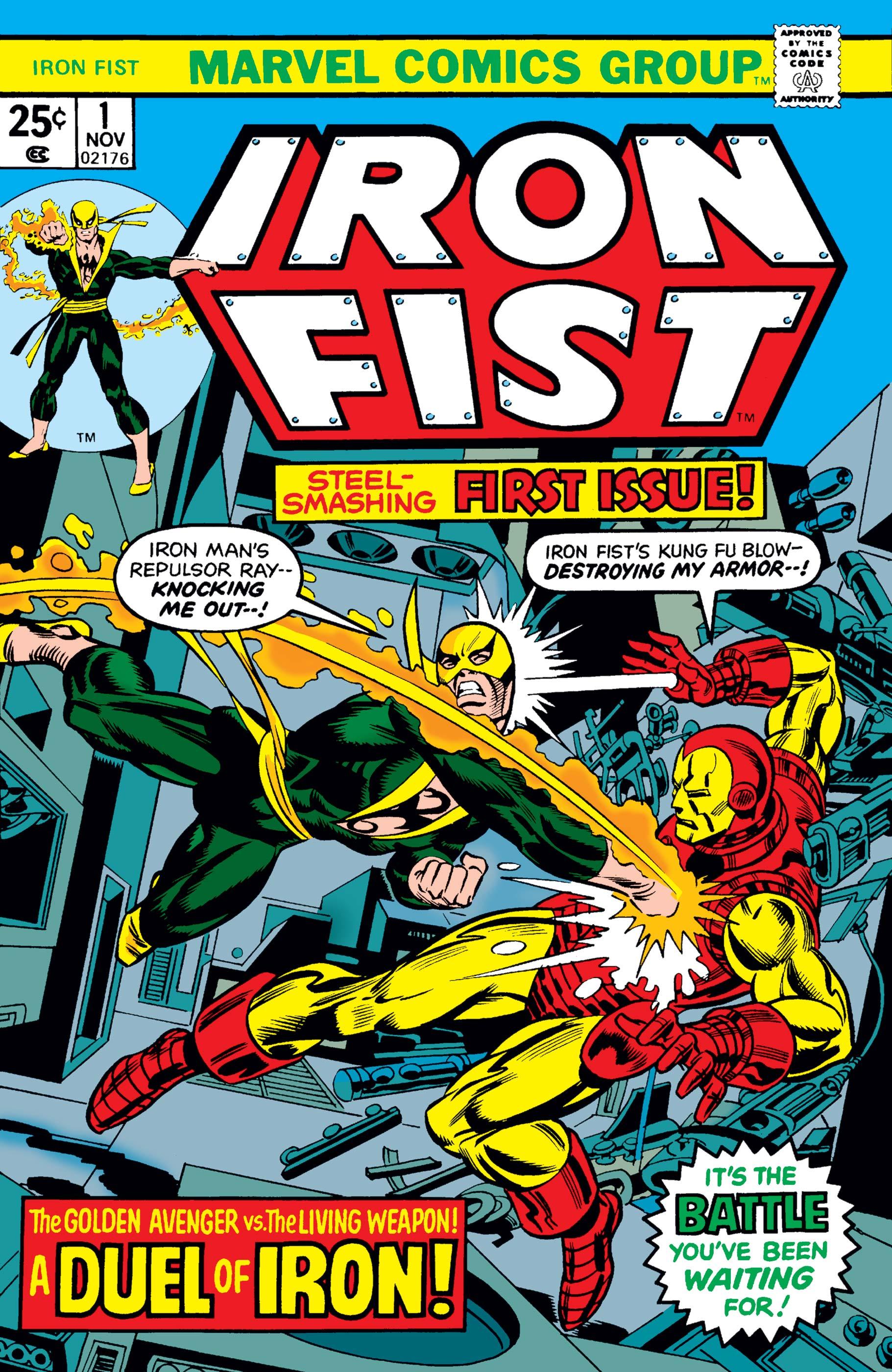 Iron Fist (1975) #1
