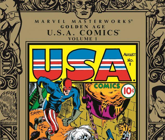 MARVEL MASTERWORKS: GOLDEN AGE USA COMICS VOL. 0 cover