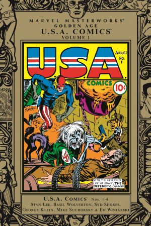 Marvel Masterworks: Golden Age Usa Comics Vol. (Hardcover)