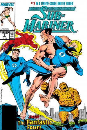 Saga of the Sub-Mariner (1988) #7