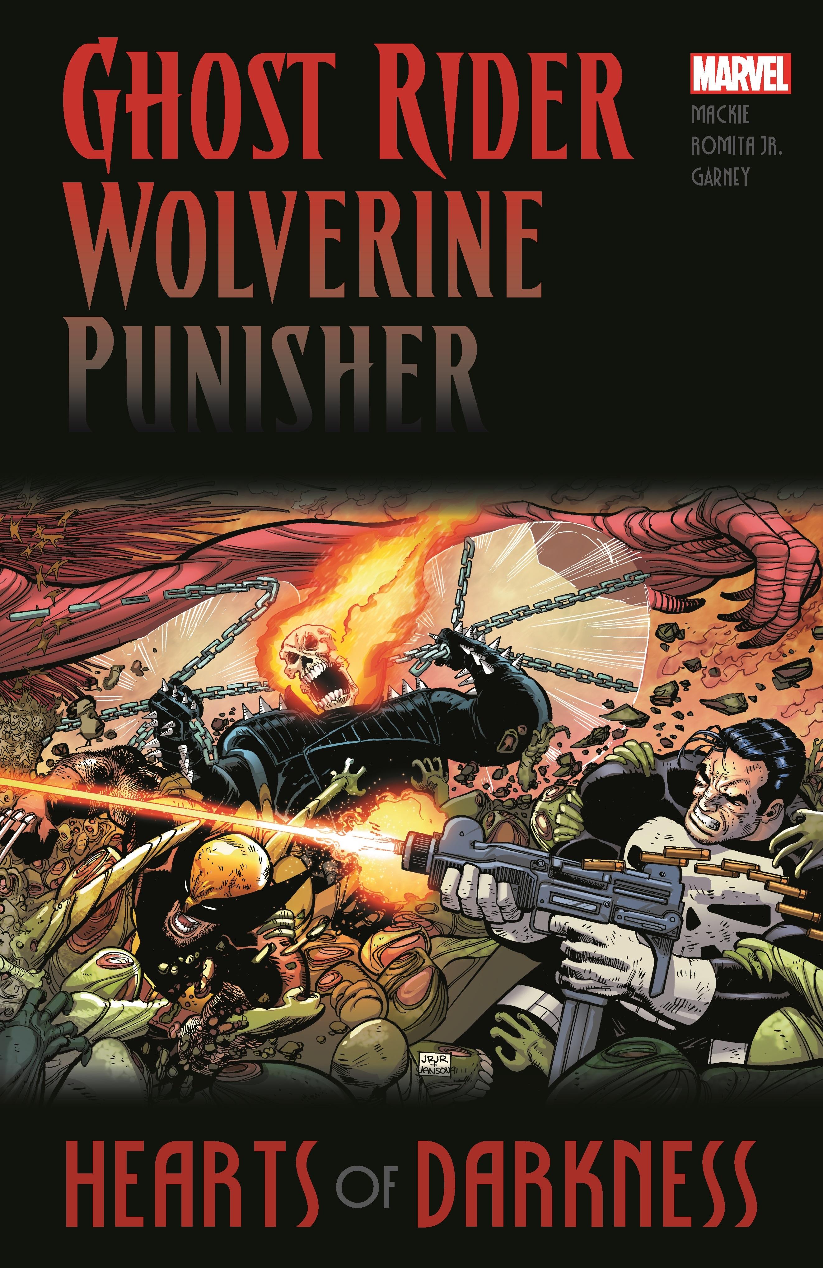 Ghost Rider/Wolverine/Punisher: Hearts of Darkness (Trade Paperback)