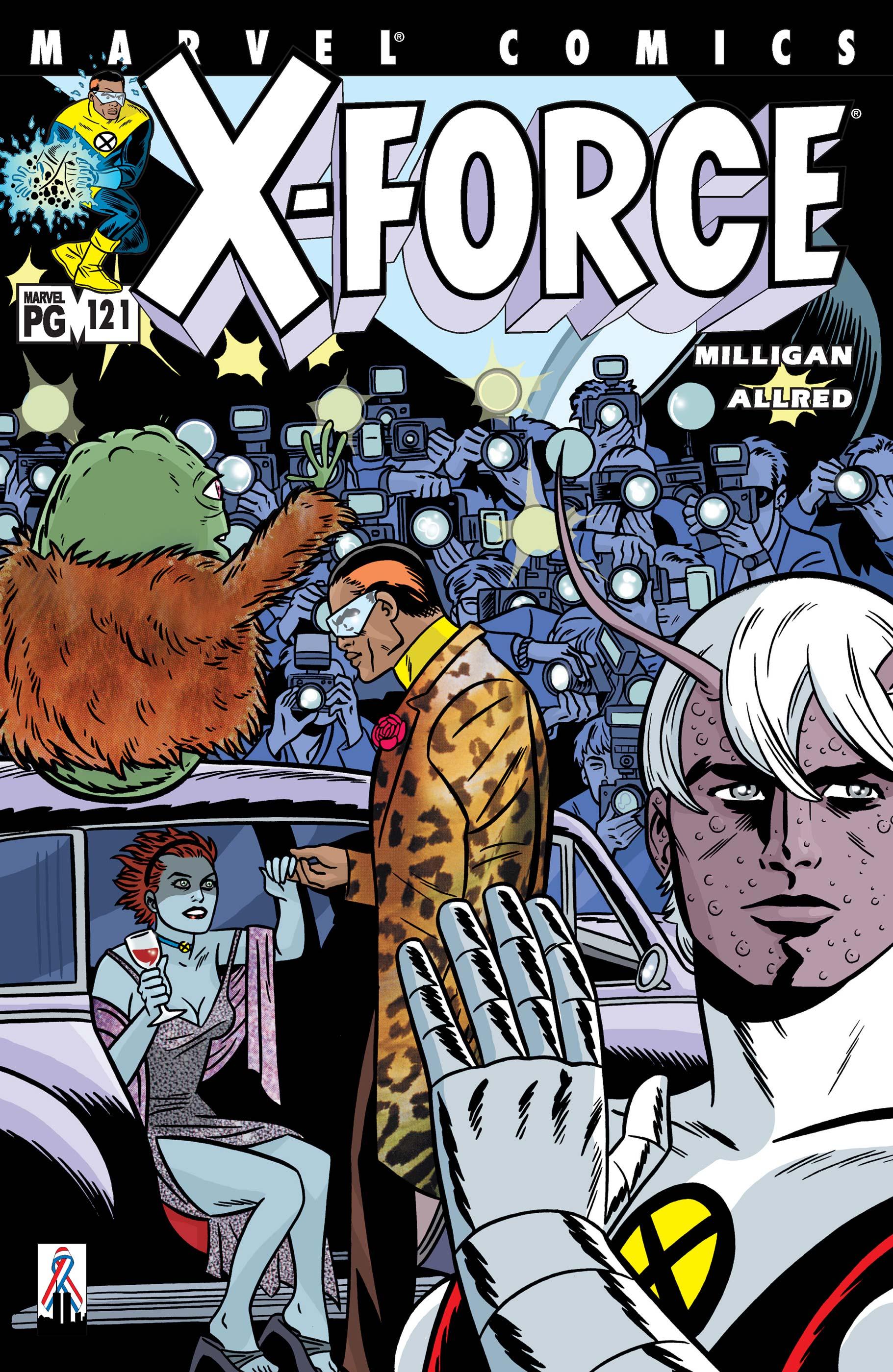 X-Force (1991) #121