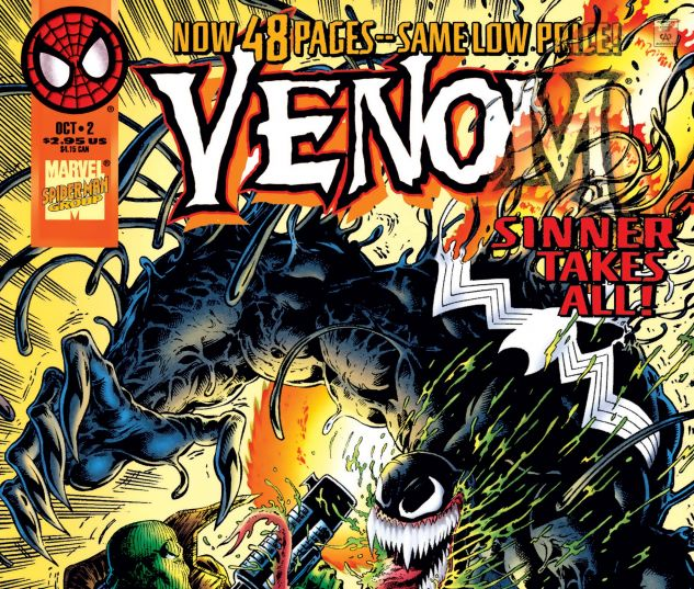 Cover for VENOM: SINNER TAKES ALL 2