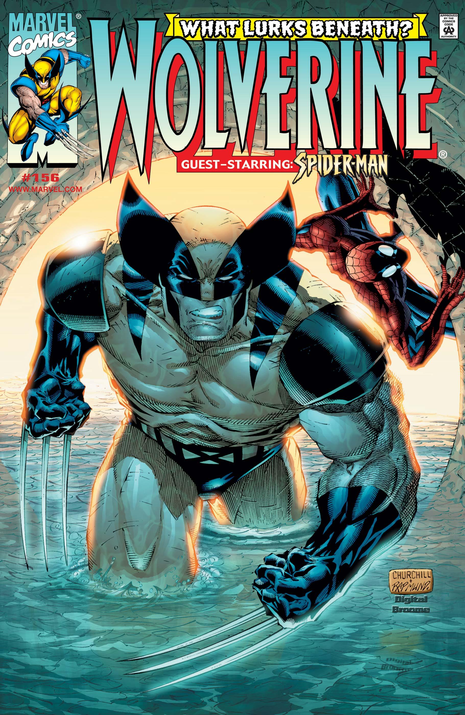Wolverine (1988) #156