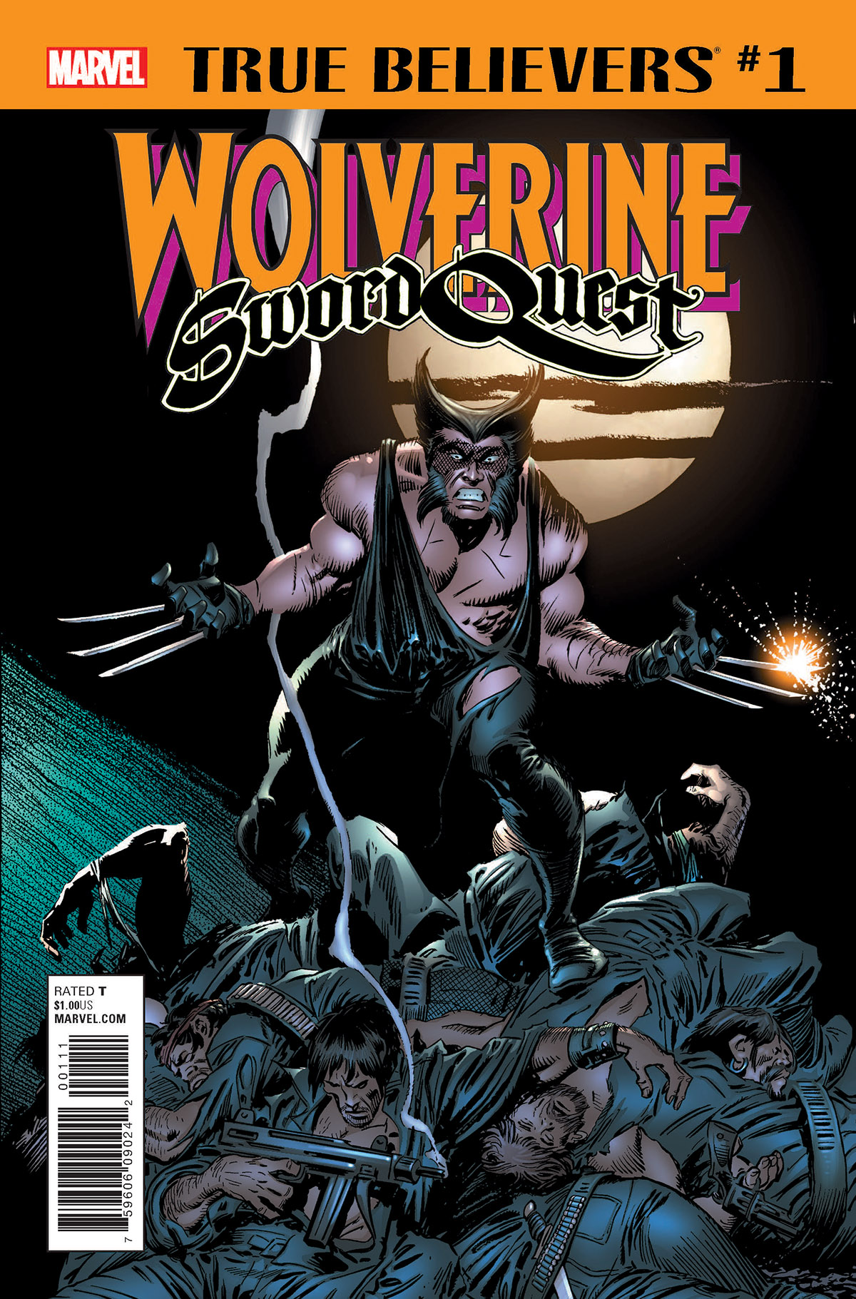 True Believers: Wolverine - Sword Quest (2018) #1