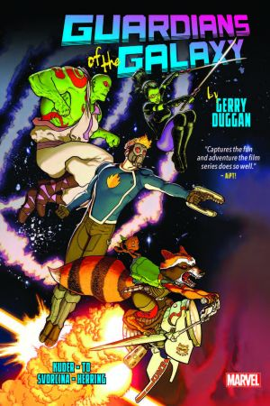 GUARDIANS OF THE GALAXY BY GERRY DUGGAN OMNIBUS HC (Hardcover)