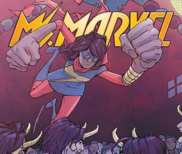 cover from Ms. Marvel Vol. 1 Kids Infinite Comic (2018) #6