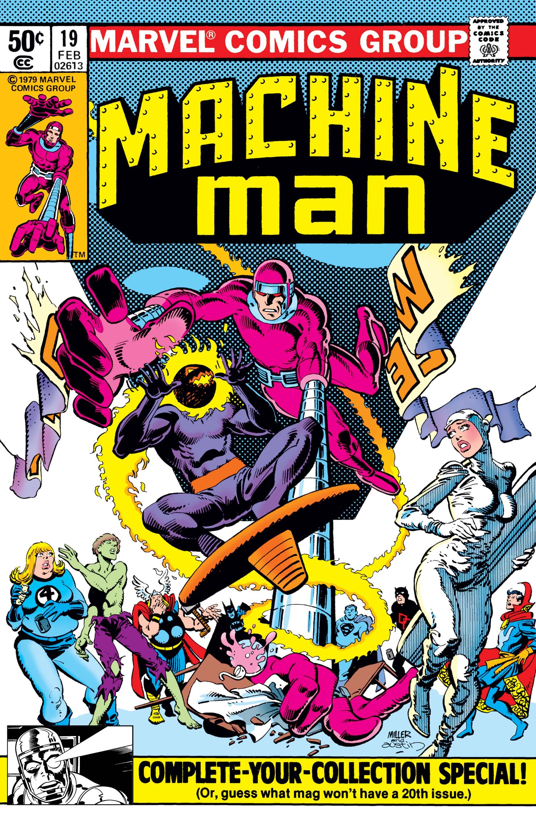 Machine Man (1978) #19