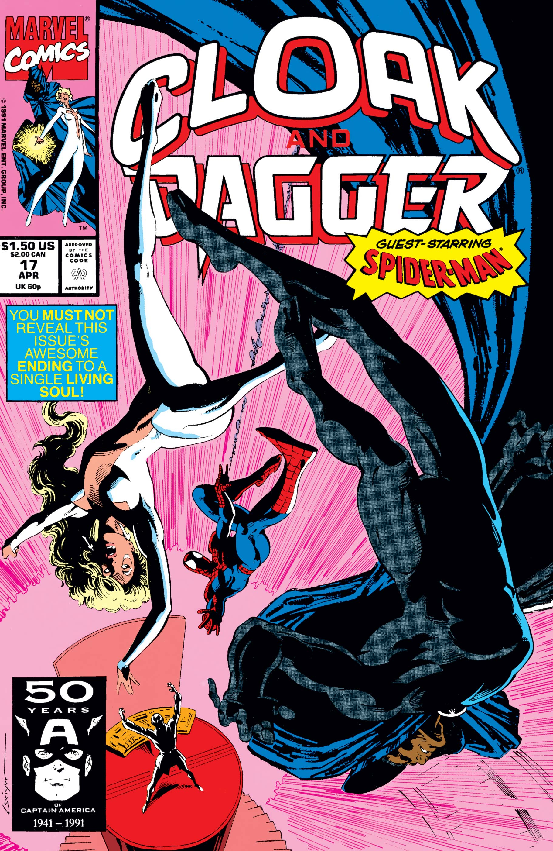 The Mutant Misadventures of Cloak and Dagger (1988) #17