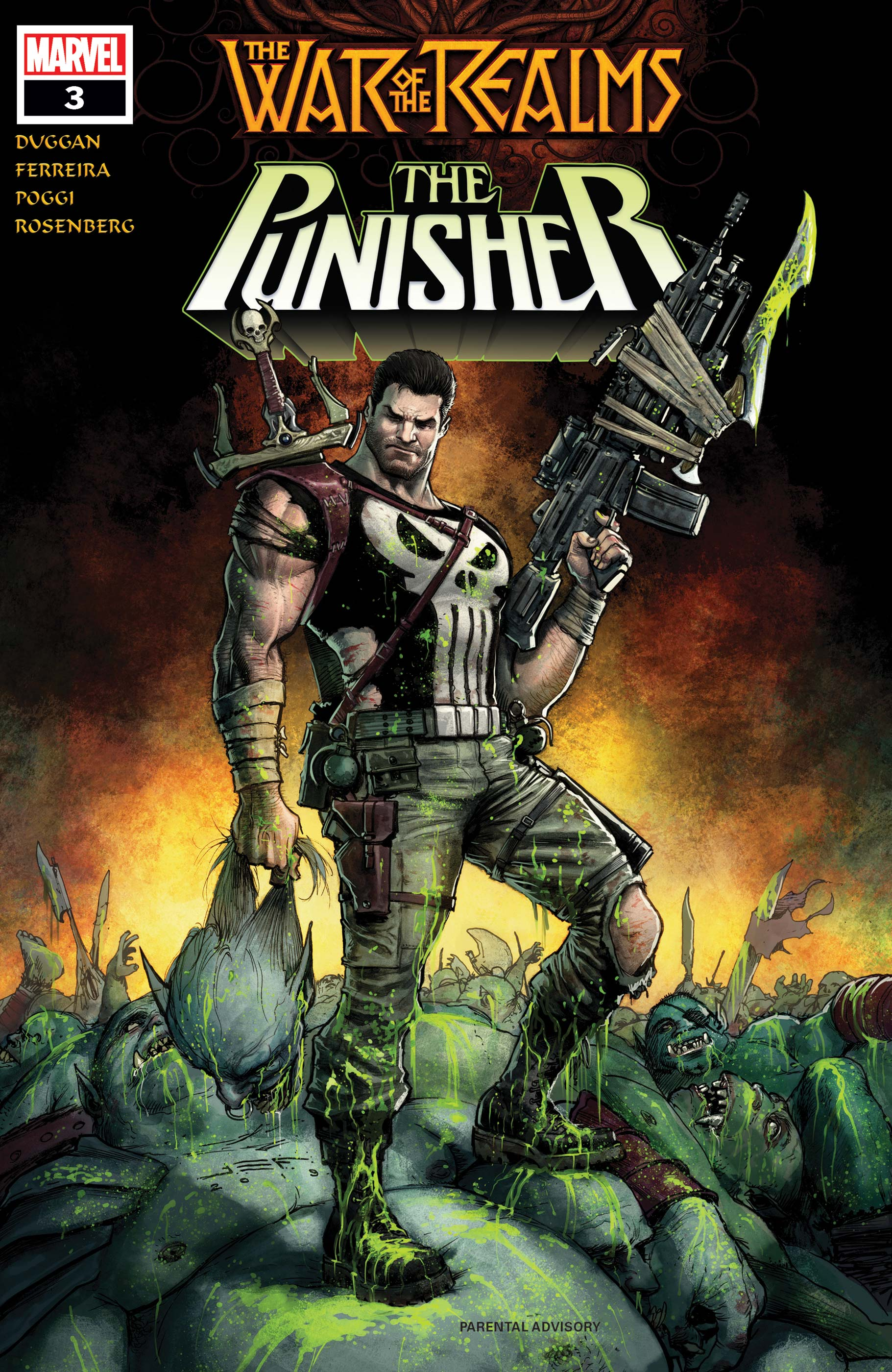 War of the Realms: The Punisher (2019) #3