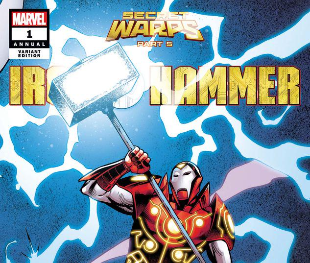 SECRET WARPS: IRON HAMMER ANNUAL 1 PACHECO CONNECTING VARIANT #1
